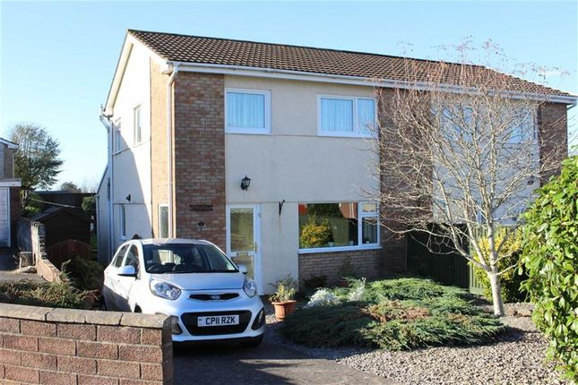 Thumbnail Semi-detached house for sale in Clos Trafle, Gowerton, Swansea