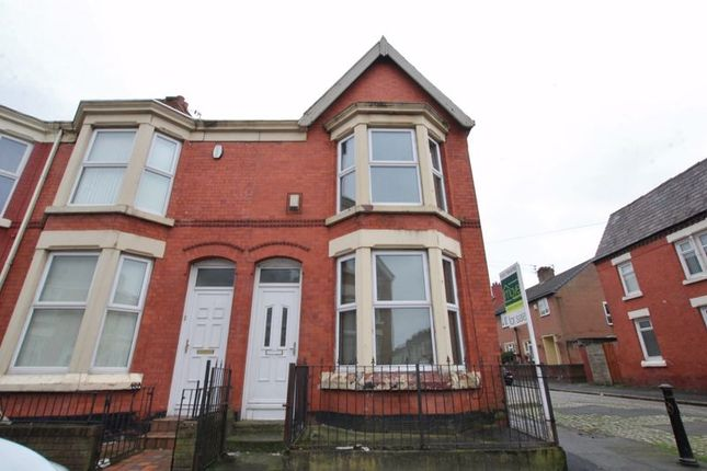 Thumbnail Terraced house for sale in Connaught Road, Kensington, Liverpool