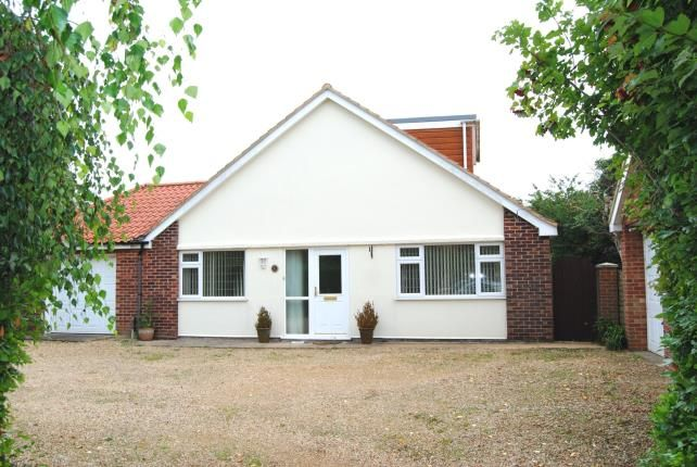 Thumbnail Bungalow for sale in North Runcton, Kings Lynn, Norfolk