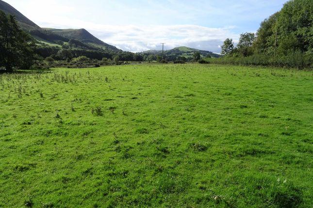 Thumbnail Land for sale in Llandinam, Powys