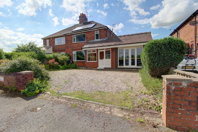 Thumbnail Semi-detached house for sale in Mill Lane, Wrinehill, Crewe