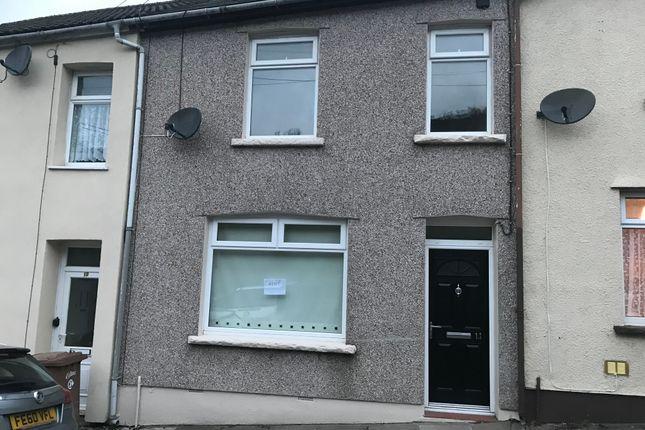 Thumbnail Terraced house to rent in Lady Tyler Terrace, Rhymney
