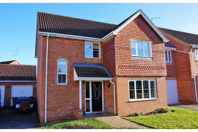 Thumbnail Detached house for sale in Willow Close, Ruskington, Sleaford