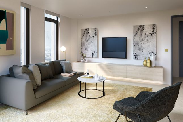 Thumbnail Flat for sale in The Waterman, Greenwich Peninsula, London SE10, London,
