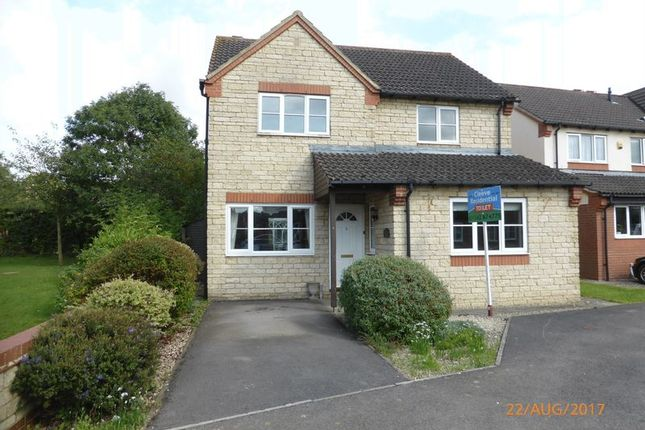 Thumbnail Detached house to rent in The Cornfields, Bishops Cleeve, Cheltenham