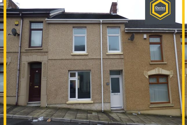 Thumbnail Terraced house to rent in Bigyn Road, Llanelli