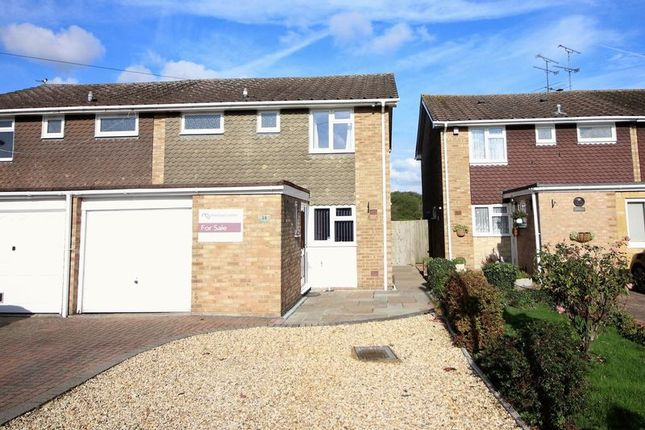 Thumbnail Semi-detached house for sale in Beechnut Drive, Blackwater, Camberley