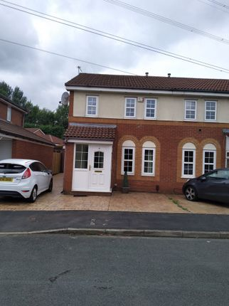 Thumbnail Semi-detached house to rent in Woodlea, Chadderton, Oldham
