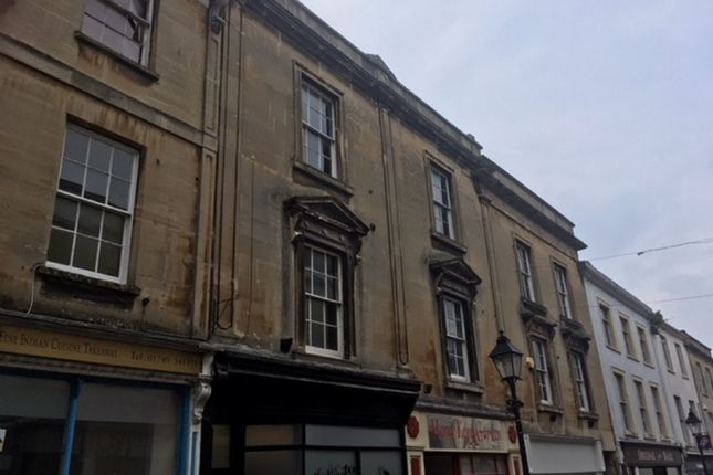 Thumbnail Maisonette to rent in High Street, Shepton Mallet