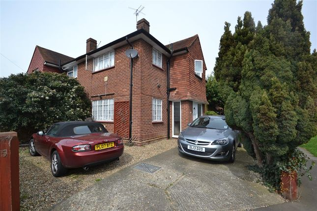 Semi-detached house for sale in Beech Road, Feltham