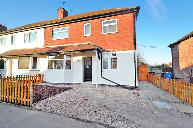 Thumbnail Semi-detached house for sale in Victor Crescent, Sandiacre, Nottingham