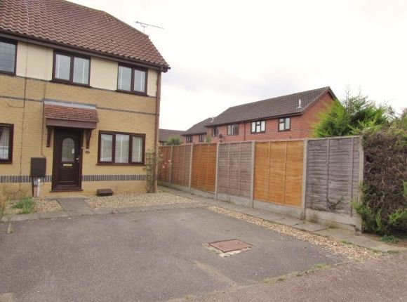 Thumbnail End terrace house to rent in Haywards Fields, Kesgrave, Ipswich