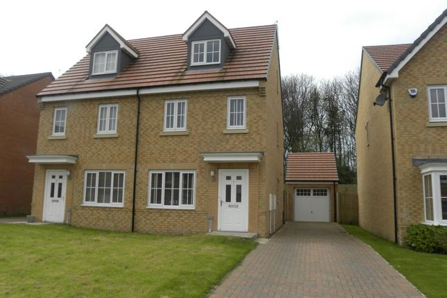 Thumbnail Town house for sale in Jackson Close, Seaton Delaval, Whitley Bay