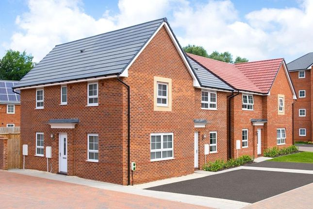 """Thumbnail Semi-detached house for sale in """"Moresby"""" at Wheatley Hall Road, Doncaster"""