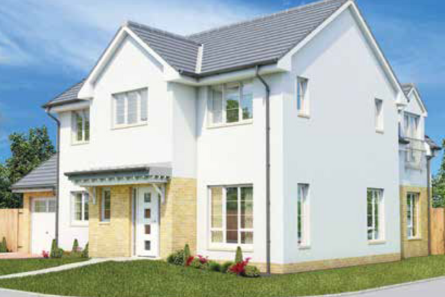 Thumbnail Detached house for sale in The Lauder II, Middleton Road, Perceton, Irvine, North Ayrshire