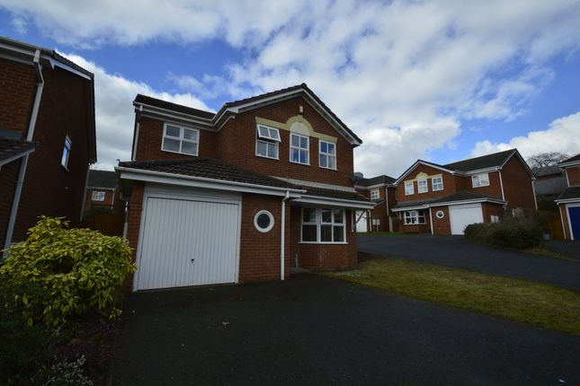 Thumbnail Detached house to rent in Hemsworth Way, Shrewsbury