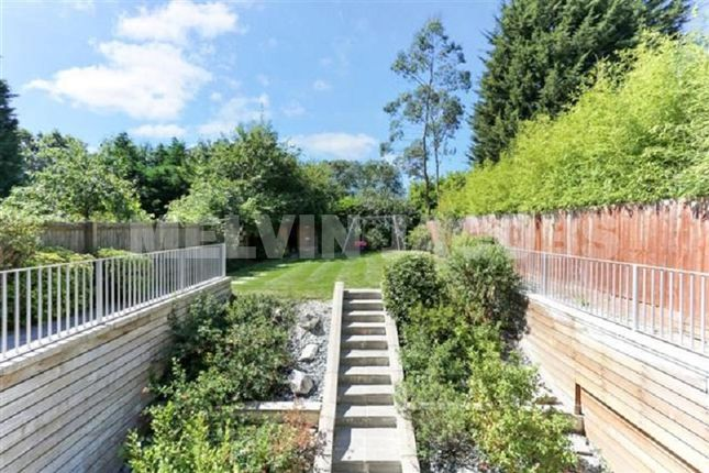 Garden of Edgwarebury Lane, Edgware, Greater London. HA8