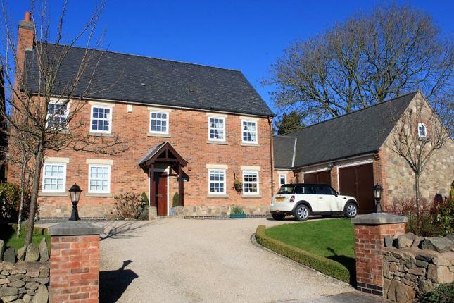 Thumbnail Detached house for sale in Quarrymans Court, Markfield