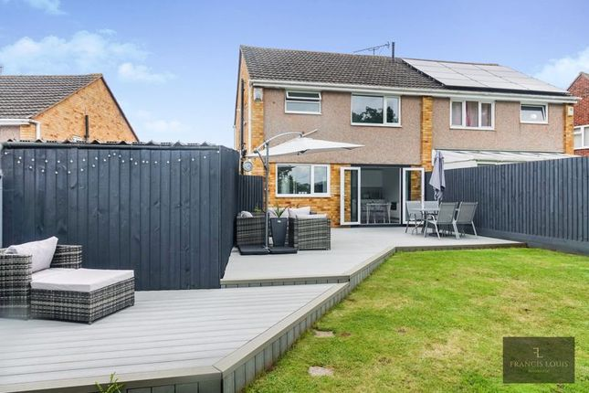 Thumbnail Semi-detached house for sale in Broadfields Road, Exeter
