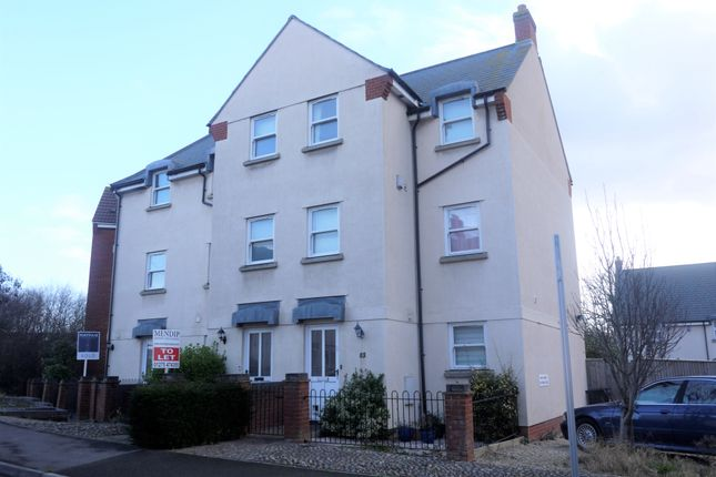Thumbnail Town house to rent in Aspen Park Road, Weston-Super-Mare