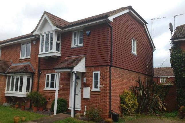 Thumbnail End terrace house for sale in Stanmore, Middlesex