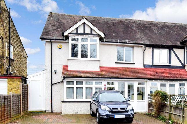 Thumbnail Semi-detached house for sale in Milton Road, Wallington, Surrey