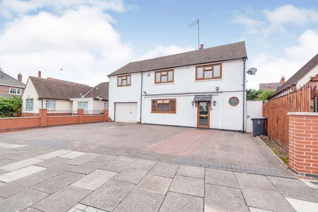 Thumbnail Detached house for sale in Roundhill Road, Leicester