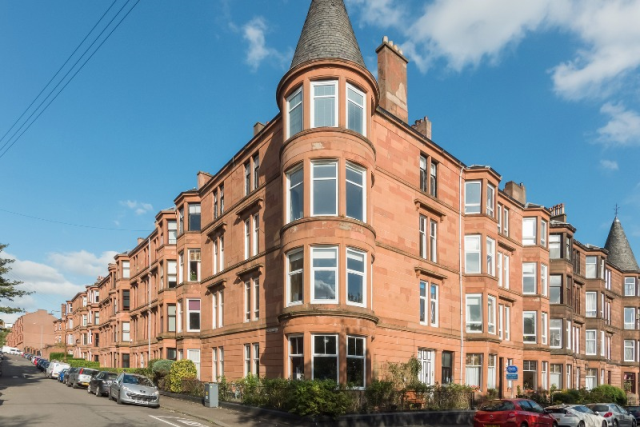 Thumbnail Flat to rent in Wilton Street, North Kelvinside, Glasgow, 6Re