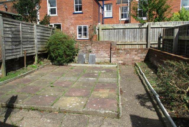 Garden of Victoria Street, Exeter EX4
