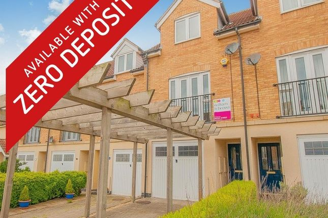 Thumbnail Property to rent in St Katherines Mews, Hampton Hargate, Peterborough