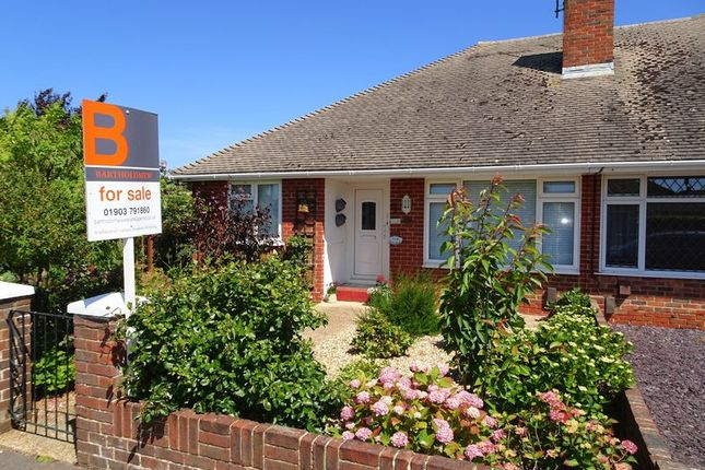 Thumbnail Semi-detached bungalow for sale in Selsey Close, Worthing