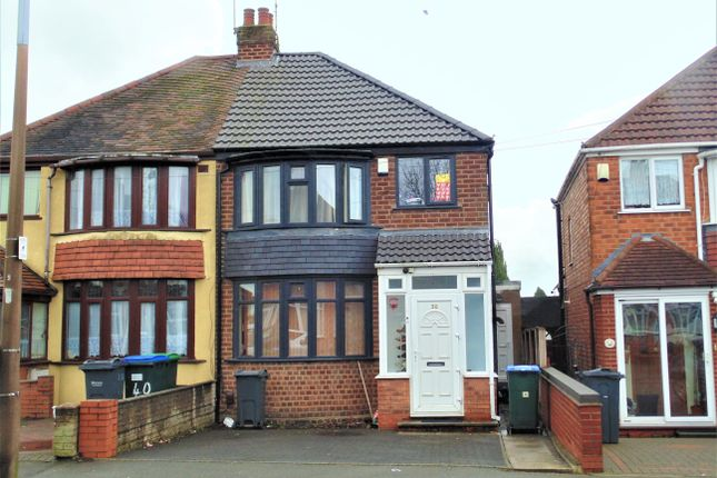 Thumbnail Semi-detached house for sale in Jayshaw Avenue, Great Barr