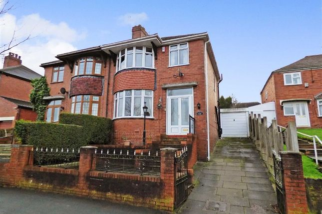 Thumbnail Semi-detached house for sale in Bank Hall Road, Burslem, Stoke-On-Trent