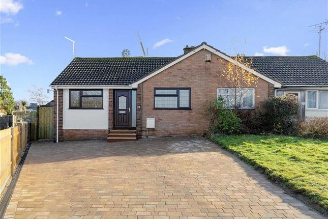 Thumbnail Semi-detached bungalow for sale in Windmill Close, Willesborough, Kent