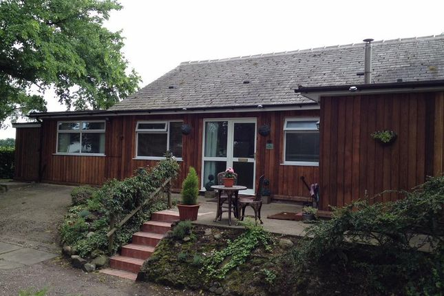 Thumbnail Bungalow to rent in Kenyon Hall Farm, Winwick Lane, Croft, Warrington