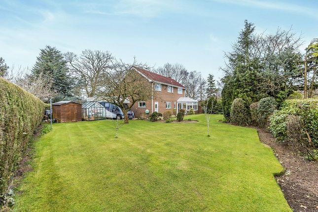 Thumbnail Detached house for sale in Haddon Close, Holmes Chapel, Crewe