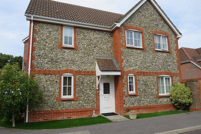 Thumbnail Detached house for sale in Bronze Close, Beggarwood, Basingstoke