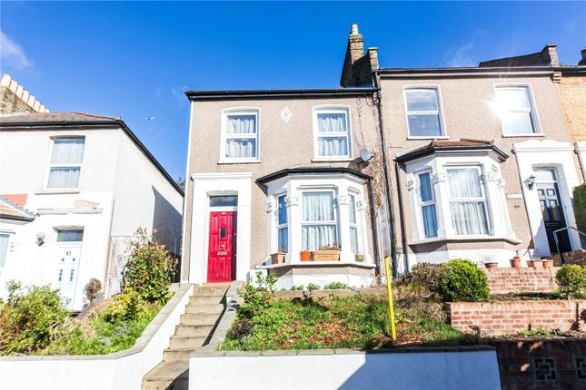 Thumbnail End terrace house for sale in Braidwood Road, Catford, London