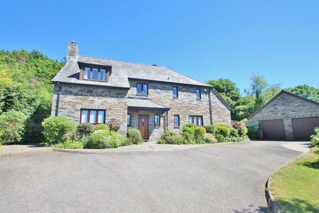 Thumbnail Detached house for sale in Orchard Close, St. Mellion, Saltash