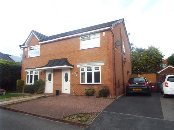 Thumbnail Semi-detached house for sale in Pateley Close, Liverpool, Merseyside, England