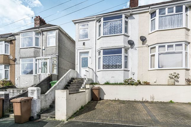 Thumbnail Semi-detached house for sale in Norfolk Road, Plymouth