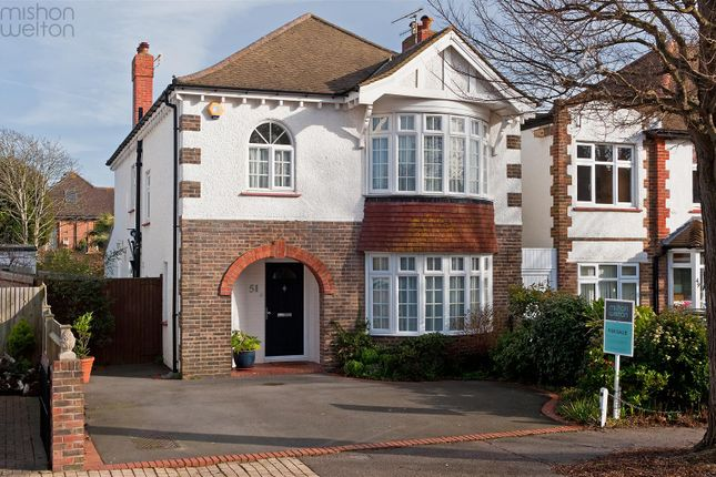 Thumbnail Detached house for sale in Berriedale Avenue, Hove