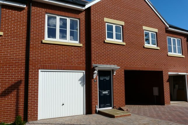Thumbnail 2 bed terraced bungalow to rent in Webbers Way, Tiverton