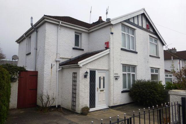 Thumbnail Semi-detached house for sale in School Lane, Treforest, Pontypridd