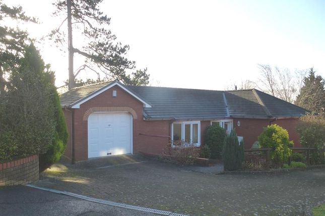 Thumbnail Detached bungalow for sale in Kings Court, Dinas Powys