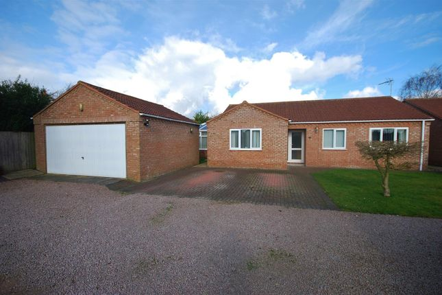 Thumbnail Detached bungalow for sale in Pipwell Gate, Moulton Seas End, Spalding