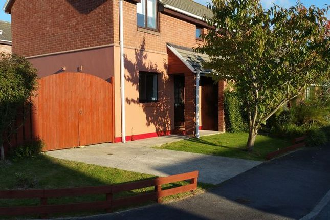 Thumbnail Semi-detached house to rent in Maes Awel, Dwrbach, Fishguard