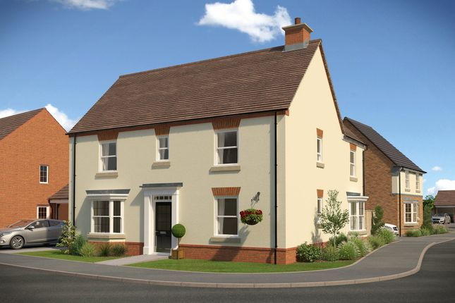 "Thumbnail Detached house for sale in ""Layton"" at Fox Lane, Green Street, Kempsey, Worcester"