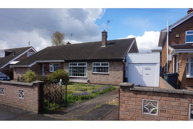 Thumbnail Bungalow for sale in Ivydale Road, Thurmaston
