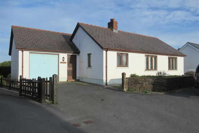 Thumbnail Detached bungalow for sale in Gwel-Y-Deri, Blaenffos, Boncath